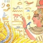 Mondo egizio in Il circo di Natale
