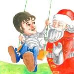 Artù e Babbo Natale in Fino a prova contraria
