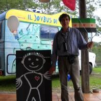 Italo Cassa e il Joy bus