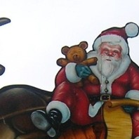 Babbo Natale porta i doni