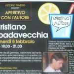Steamboat: aperitivo con Cristiano Spadavecchia