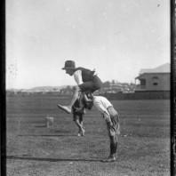 Gioco del salto della cavallina