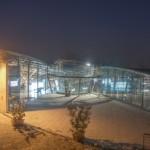 Il museo di sera