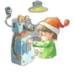 Robot, tavola di Paula Dias