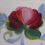 Dettaglio, la rosa