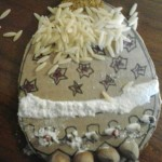 Uovo di Pasqua collage naturale