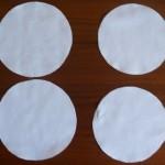 Cerchi di cotone resistente