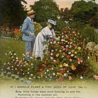 Amore per il giardinaggio