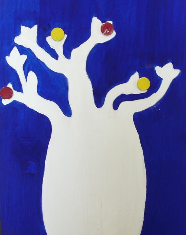 Baobab porta foto