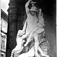 Gruppo scultoreo David e tre donne