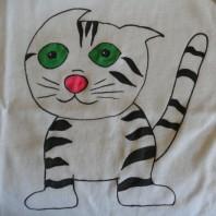 Maglietta fai da te colorata