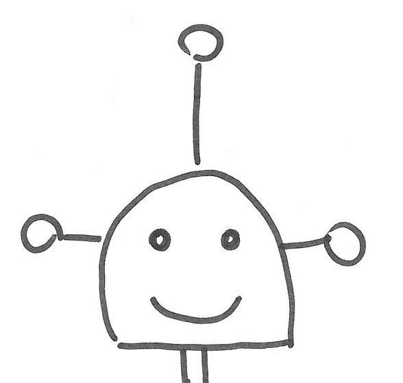 Robot antenne