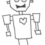 Robot gambe a molla