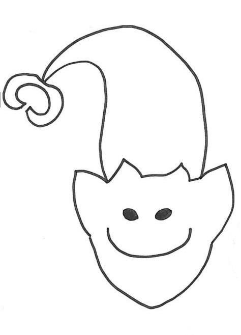 elfo disegno pinguino