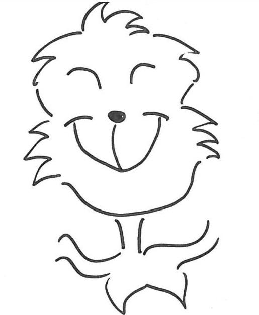 Il grinch disegno for Disegni di cabina di log gratuiti