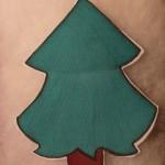 Albero Natale di stoffa
