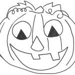 Zucca di Halloween sorridente