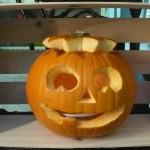 Zucca Halloween sorridente