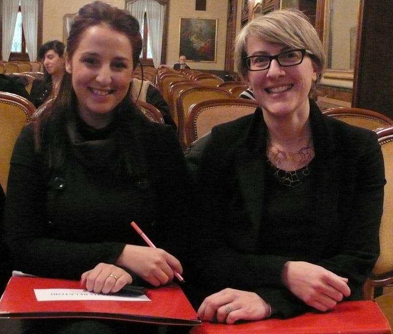 Sonia Di Ciommo e Simona Beccaria