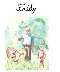 Copertina di Frédy, illustrazione di Paula Dias