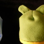 Cappello di pile fai da te con orecchie