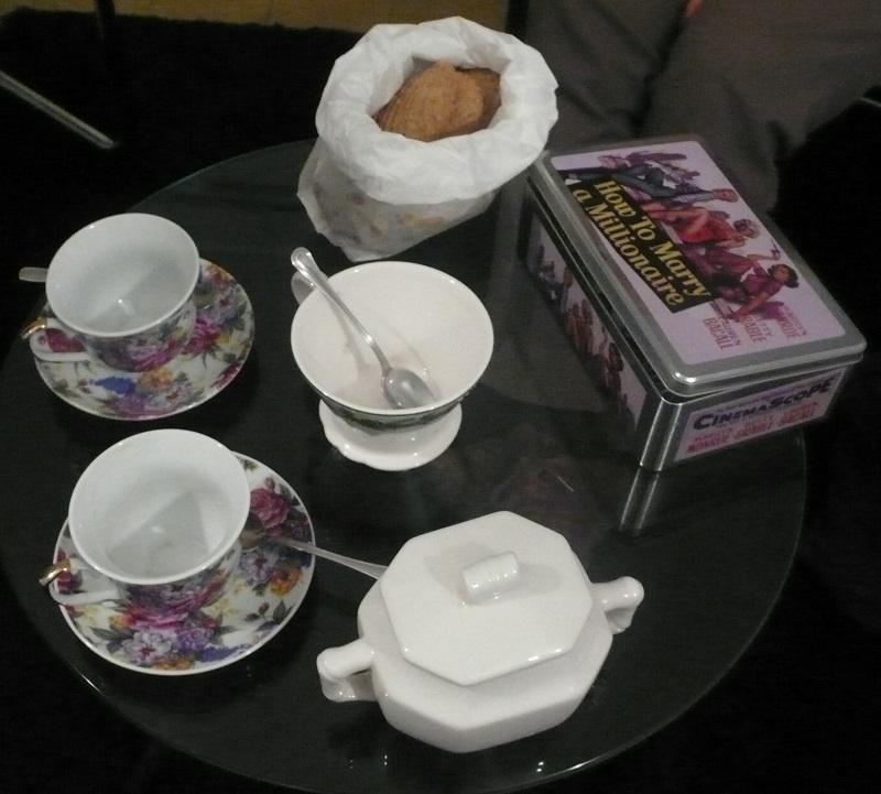 Tè con i biscotti