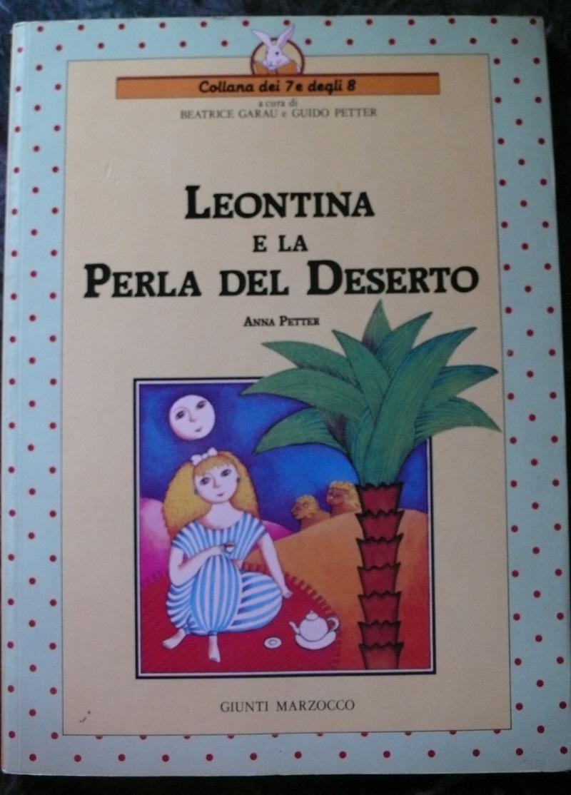 Copertina di Leontina e la perla del deserto