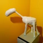 Scultura cavallo stilizzato