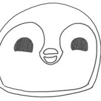 Disegno pinguino