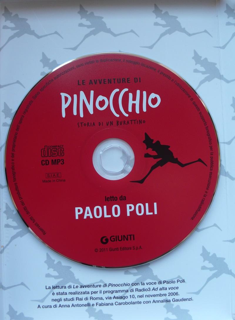 Audiolibro di PInocchio letto da paolo Poli