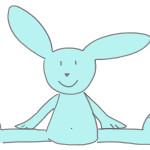 Coniglietto ginnasta