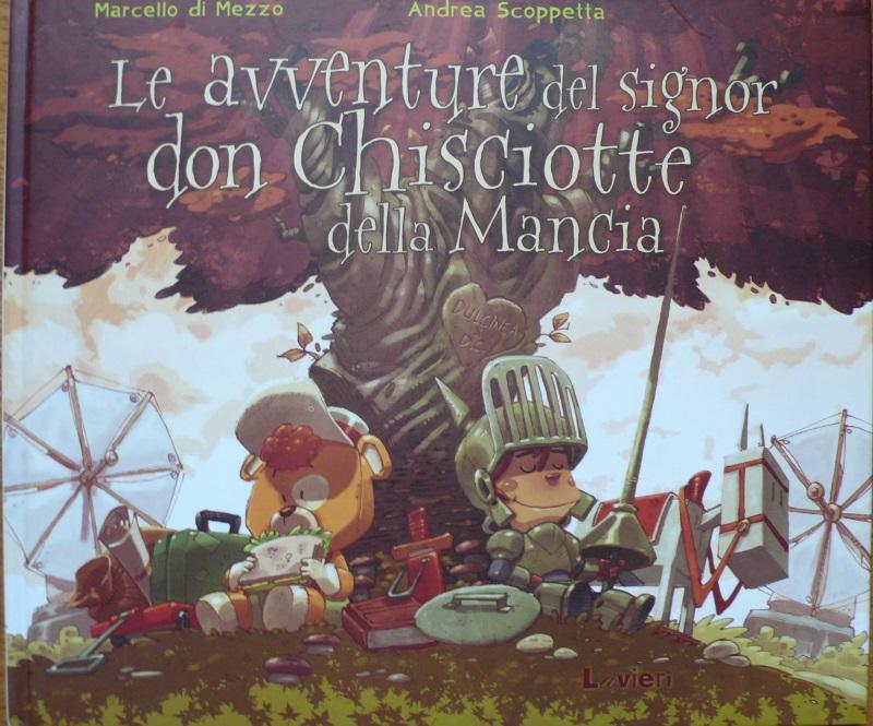 Copertina le avventure del signor Don Chisciotte della Mancia Lavieri
