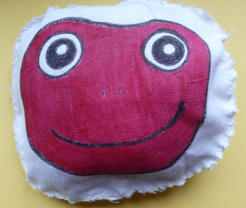 Rana rossa cuscino profumatore