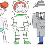 Bamboline di carta da vestire