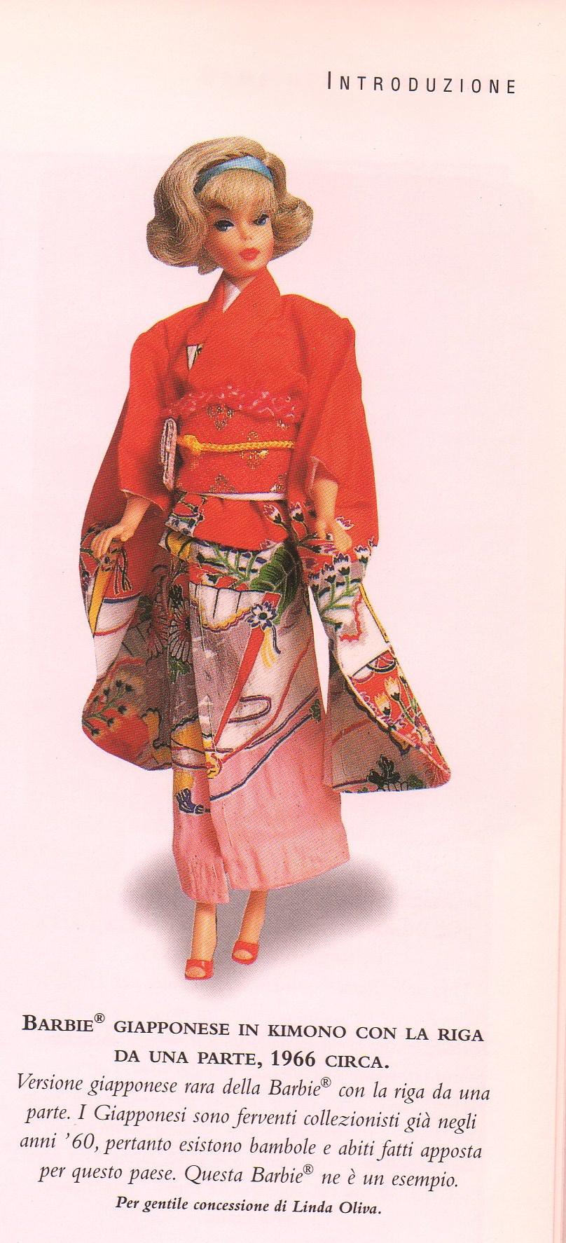 Barbie kimono