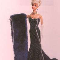 Barbie vestito da sera