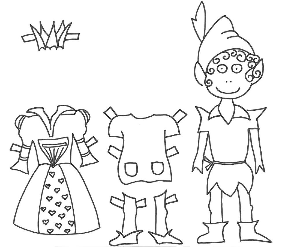 Bamboline di carta, Peter Pan, Pippi Calzelunghe
