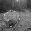 Barca vichinga in pietra