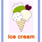 Carta gioco gelato ice cream