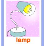 Carta gioco lampada