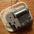 Meccanismo di un carillon a corda