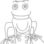 Il principe ranocchio, disegno