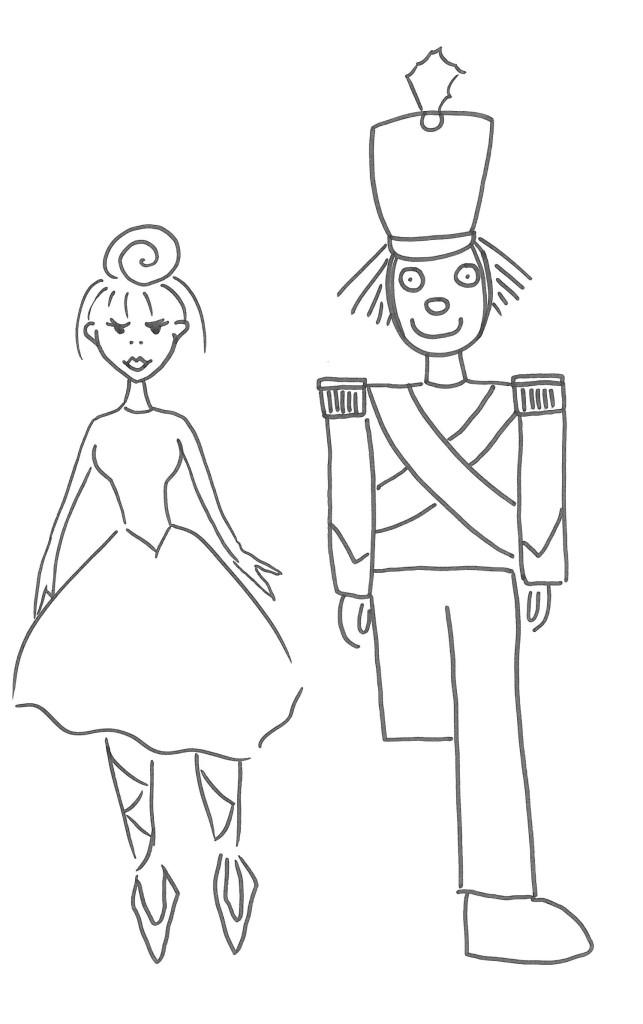 Soldatino di piombo, disegno