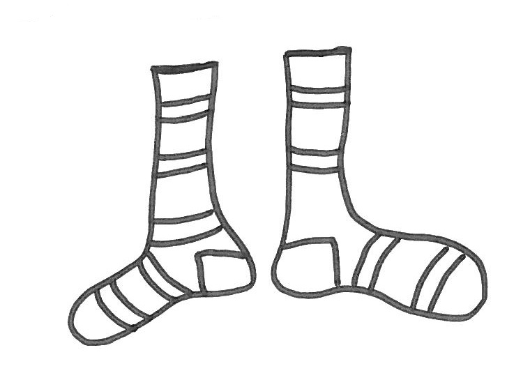 A pair of soks - un paio di calzini