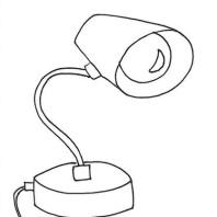 Lampada disegno