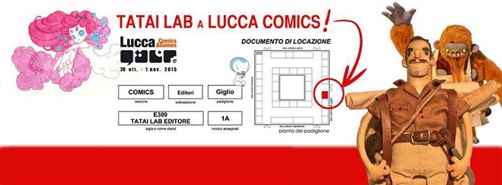 Ernest Egg a Lucca Comics