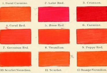 Sfumature di rosso