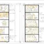 Miyazaki storyboard Totoro