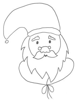 Babbo Natale disegno