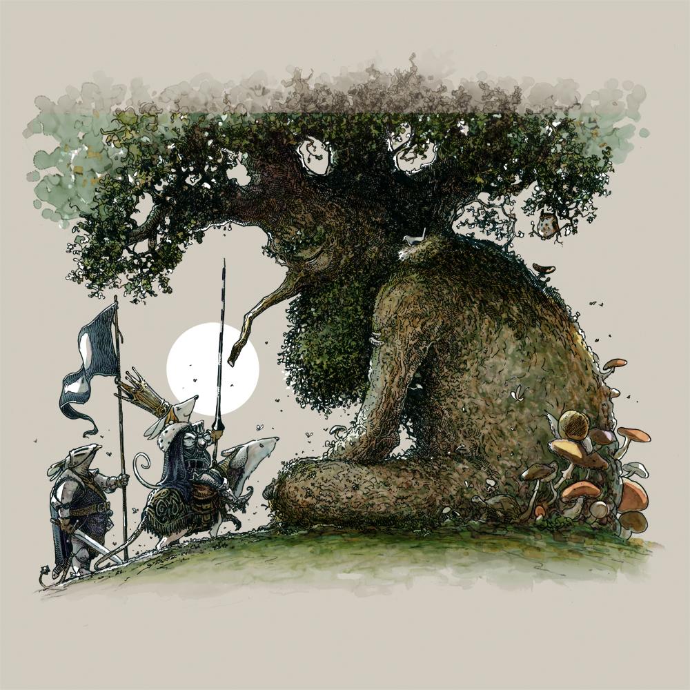 L'uomo albero di Massimiliano Frezzato